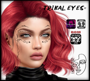 Face Tattoo :: Tribal Eyes :: ( BOM/ Classic Avatar + Omega )