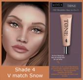 TONE 2 - UBU Blendables Skin for Evo X #4 (V-Match - Snow)