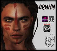 Face Tattoo :: Druhn :: BOM Layers