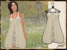 JANE - lillian dress.cream
