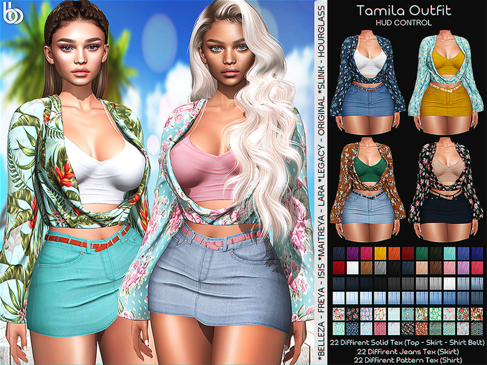 Bens Boutique - Tamila Outfit - Hud Control