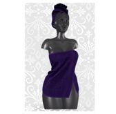 MAAI Una towel * Purple