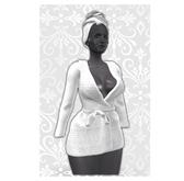 MAAI Ula bathrobe * White
