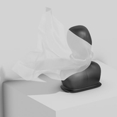 Sveva Face Scarf — Dove