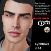 #TS#  Eyebrows #44 BOM - Lel Evo/Catwa HD Pro/ Classic