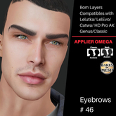 #TS#  Eyebrows #46 BOM - Lel Evo/Catwa HD Pro/ Classic
