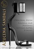 DEMO**ArisArisB&W~Azucena  Sandals - I. KUPRA
