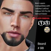 #TS# Beard #98 BOM - Lel Evo/Catwa HD Pro/AK/ Classic