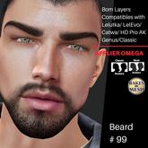 #TS# Beard #99 BOM - Lel Evo/Catwa HD Pro/AK/ Classic