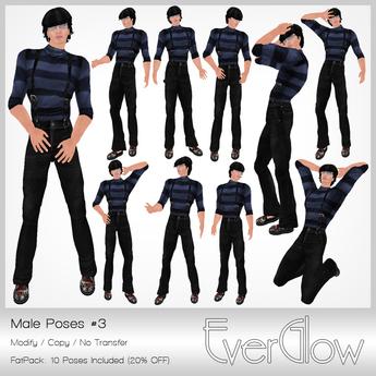 *EverGlow* - Boys Poses #3