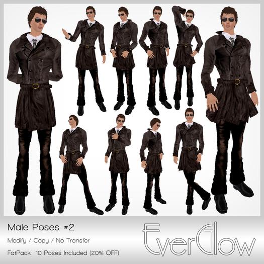 *EverGlow* - Boys Poses #02