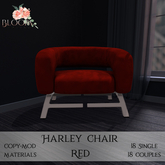 Bloom! - Harley Chair Red (PG) (Add me to Unpack)