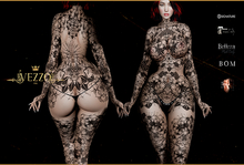 Vezzo Ink Tattoo - Spider's Flower Black - ADD ME