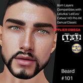 #TS# Beard #101 BOM - Lel Evo/Catwa HD Pro/AK/ Classic