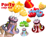 [ FULL PERM ] Party Cake Hat