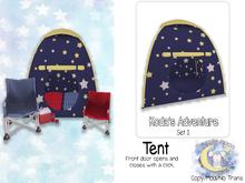 {SMK} Koda's Adventure Tent   Set 2   Blue
