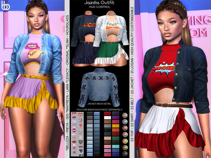 Bens Boutique - Jadzia Outfit Hud Control