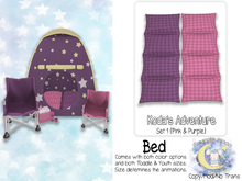 {SMK} Koda's Adventure Bed | Set 1 | Pink-Purple