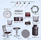 [ zerkalo ] Antique Memories - Rocking Chair