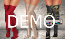 DEMO - Nala Design - Patricia Pointed Boots - Mesh Bodies