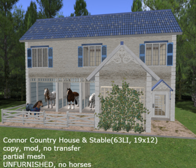 Connor Country House & Stable(63LI, 19x12)