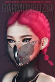 Garmonbozia ::: Creepyfly mask METAL pack