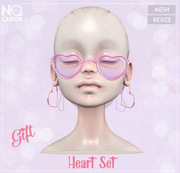 No Cabide :: Heart Set [Gift] (wear)