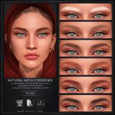 Nuve. Natural arch tintable eyebrows - Evo X