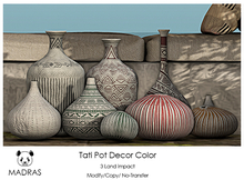 MADRAS Tati Pot Decor Color Box