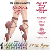 .:Miss Loire:. CuriousCollection - Dollie's Heels -brights(add)