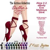.:Miss Loire:. CuriousCollection - Dollie's Heels - darks (add)