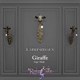 .: RatzCatz :. LAMPimals *Giraffe* Wall