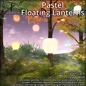 [DDD] Pastel Floating Lanterns