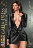 ***ArisArisB&W~Galia Jacket Dress~CUSTOM HUD