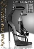 DEM*ArisAris~MyMar Strap Sandals~CUSTOM HUD - KUPRA