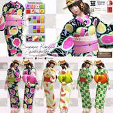 *FG* [FatPack] Summer Kimono (Watermelon) [FatPack]