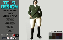 Horse Riding Outfit ~ Christinna (Hud textures) DEMO ~ Mesh