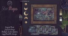 [QE Home] Star Maps Wall Art