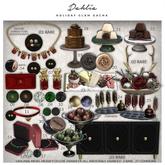 Dahlia - Holiday Glam - Buffet Table - .03 RARE