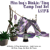 Miss Ing's DT Camp Tent Set