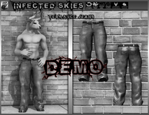 *IS DEMO* Terrance Jeans Furry 2