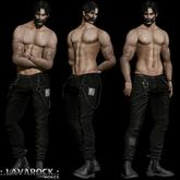 .:LAVAROCK POSES:.Male Bento Pose Set-5