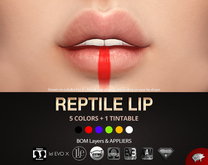 Mad' - Reptile Lip [APPLIERS + LAYERS]