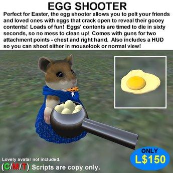 Egg Shooter (Boxed)