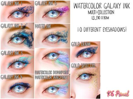XS Primal EvoX Galaxy Ink Multi-Collection