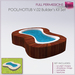 Full Perm SCULPTED POOL - HOTTUB V.02 - Swimming Pool - Hot Tub FULL PERM with animated water