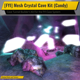 [FYI] Mesh Crystal Tunnel Cave Kit (Candy)