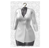 MAAI Carrie blazer dress * White