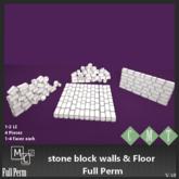 [MC] FP Mesh Stone walls & floor (wear to unpack)
