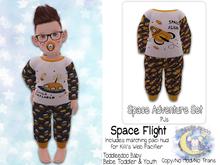 {SMK} Space Adventure Pajamas | Space Flight